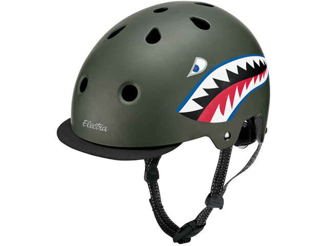 Electra Bike Helm Kinder tigershark